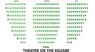 Theatre On The Square Seating Chart for Broadway Center Events