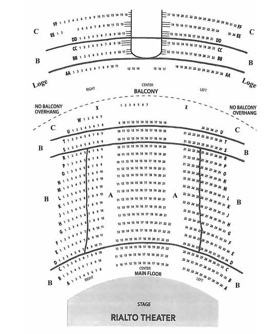 Tucson Dimensions 2017 >> rialto theater seating chart   Brokeasshome.com